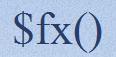 $fx() - Logo