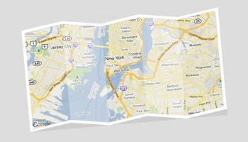 Create a CSS and SVG powered, real looking Map