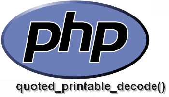 Decode and solve in PHP quoted-printable characters from plain emails